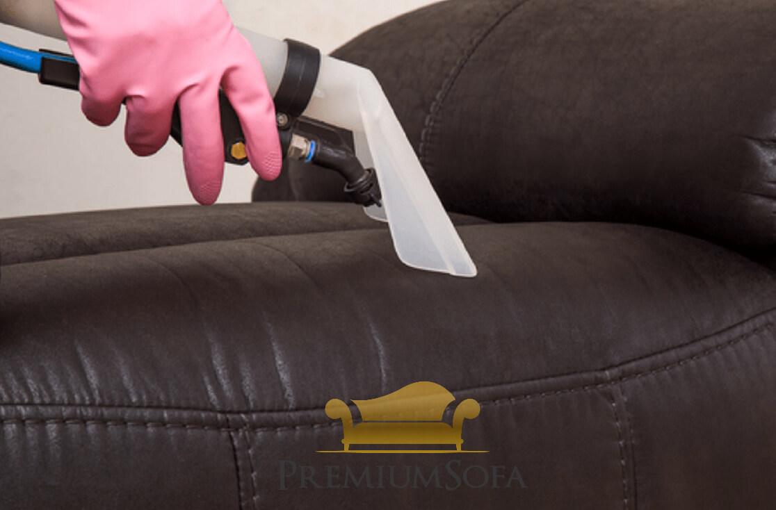 Jasa Bersihkan Sofa Kulit
